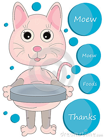 Pink Kitty Beg Foods_eps