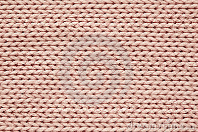 Pink knitted texture