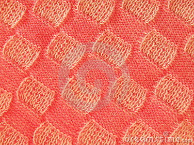 Pink knitting texture