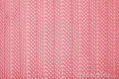 Pink linen fabric