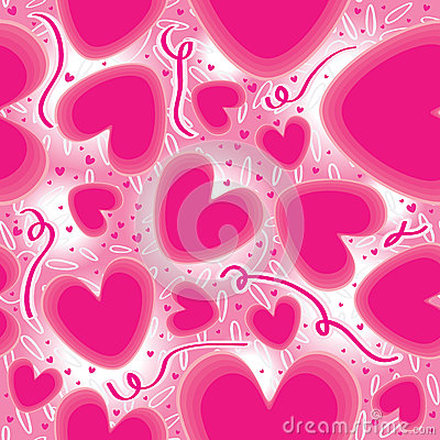 Pink Love Connect Seamless Pattern_eps