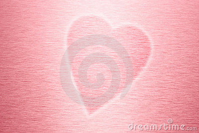 Pink Love Heart Background