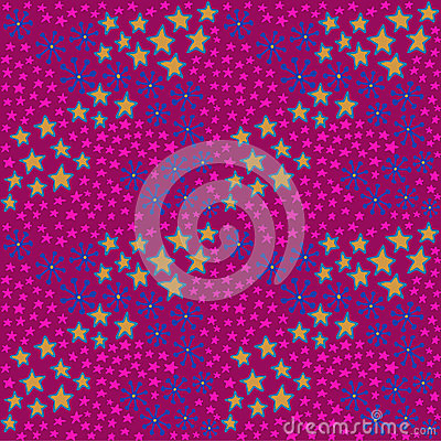 Pink and maroon hipster pattern