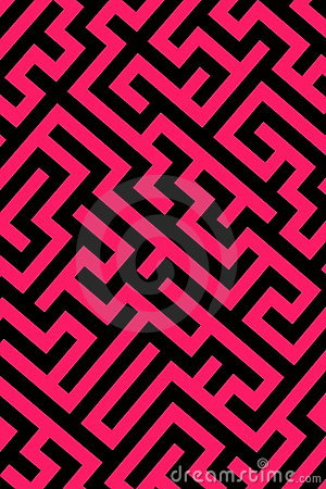 Pink maze background