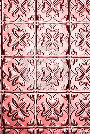 Pink Metal Steel Background