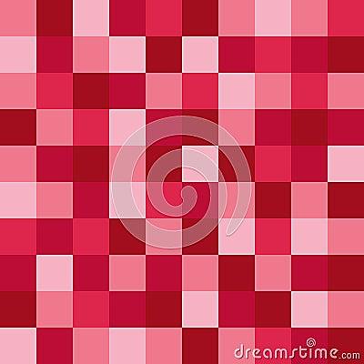 Pink mosaic pattern
