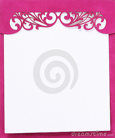 Pink note pad book