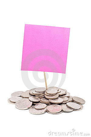 Pink notes and Malaysia coins