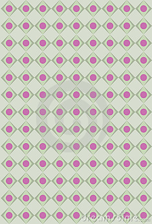 Pink and olives rhombus texture