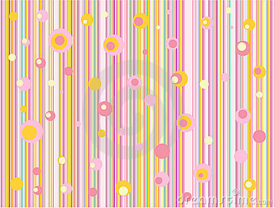 Pink-orange gentle retro  background