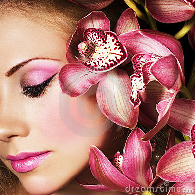 Free Pink Orchids Royalty Free Stock Photos - 6399358