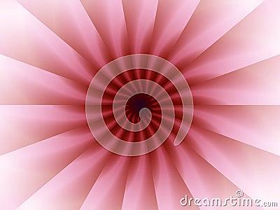 Pink Origami Folds Pattern