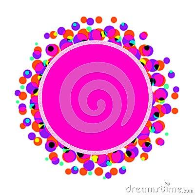 Pink paint logo