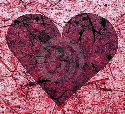 Free Pink Paper Heart Stock Photography - 13405022