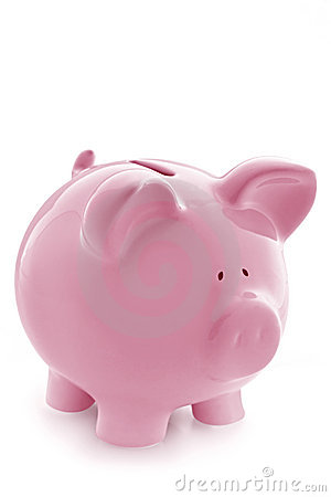 Free Pink Piggy Bank Royalty Free Stock Photo - 4688565