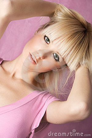 Pink portrait