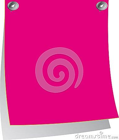 Pink Post-it