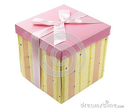 Pink present 1