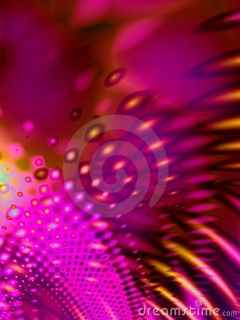 Free Pink Psychedelic Retro Pattern Stock Photography - 1852352