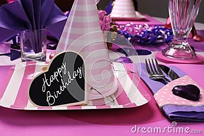 springfield-wedding-reception-harp-purple-fuchsia-table ... |Pink And Purple Table Setting