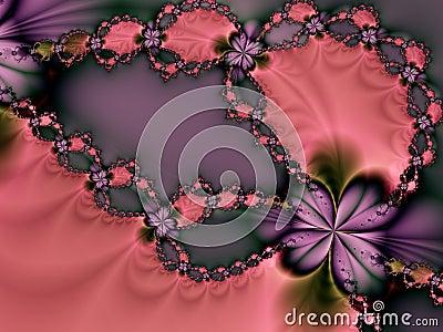Pink and Purple Valentine