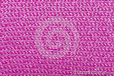 Pink Raffia