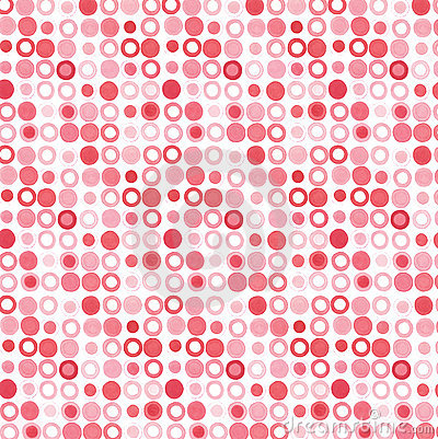 Pink red dots