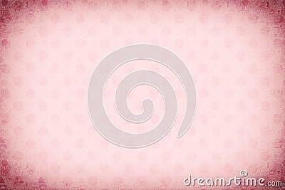 Pink circle background illustration