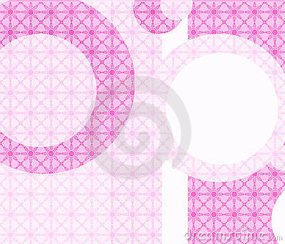 Pink Retro Geometric wallpaper