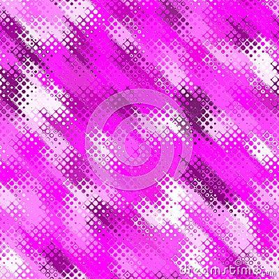 pink retro halftone