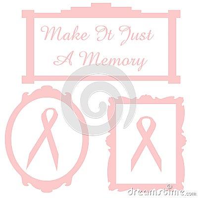 Pink ribbon memory
