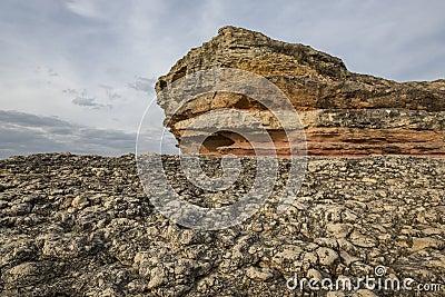 Pink rocks, Kandira, Kocaeli, Turkey