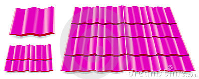 Pink roof