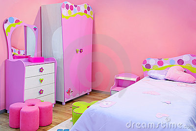 Pink Room Royalty Free Stock Images - Image: 8566559