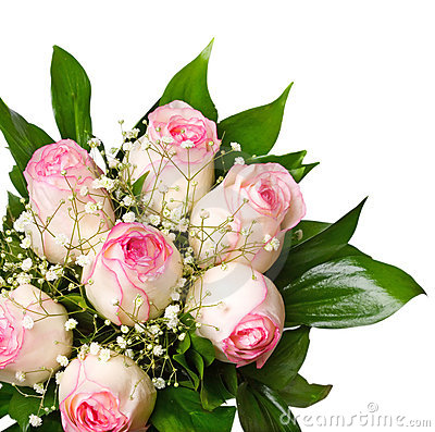 Free Pink Rose Bouquet Stock Photo - 2340830