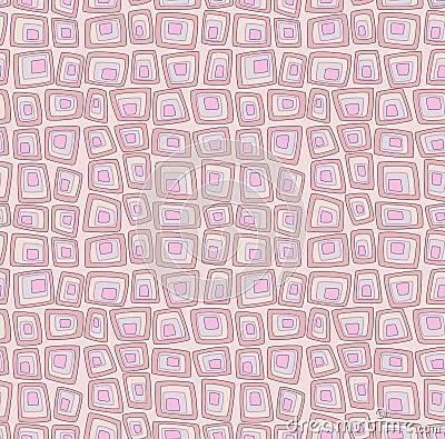 Pink seamless geometric pattern