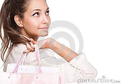 Pink shopping.
