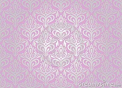 Pink silver wallpaper royalty free stock image image for Pink and silver wallpaper