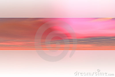 Pink sky background