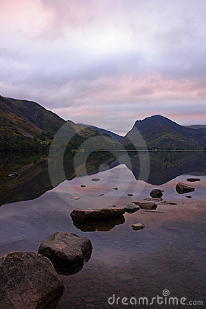 Pink sky Buttermere 3