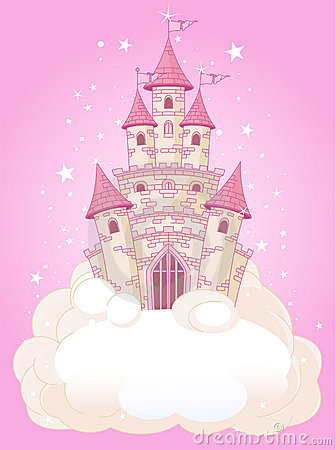 Free Pink Sky Castle Royalty Free Stock Image - 20374906