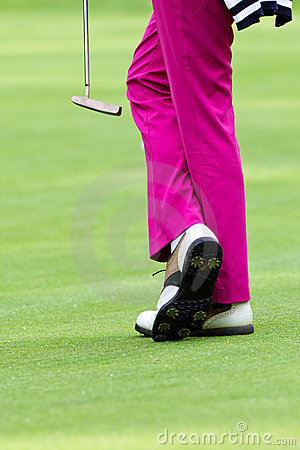 Pink slacks