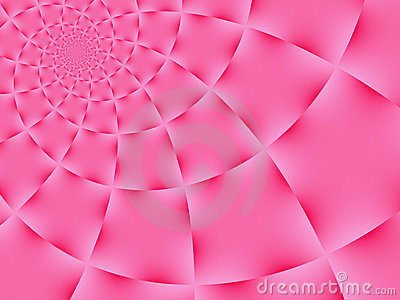 Pink Spiral Background