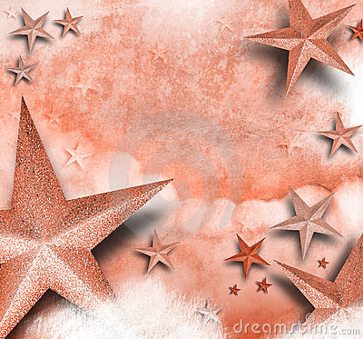 Pink Star Love Background