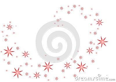 Pink Star Spiral