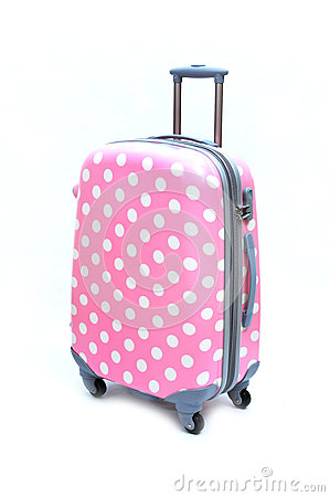Free Pink Suitcase Royalty Free Stock Photography - 78075557