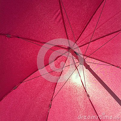 Pink Sun Umbrella