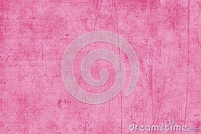 Pink Textured Scrapbook Paper