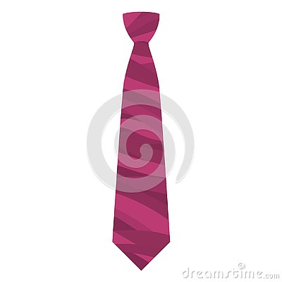 Free Pink Tie Icon, Flat Style Stock Photography - 127664492