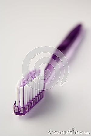Pink toothbrush